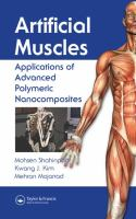 Cover image for Artificial muscles : applications of advanced polymeric nanocomposites