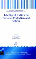 Cover image for Intelligent textiles for personal protection and safety