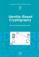 Cover image for Identity-based cryptography