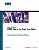 Cover image for CCIE security practice labs