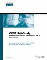 Cover image for CCNP self-study : building scalable Cisco internetworks (BSCI)