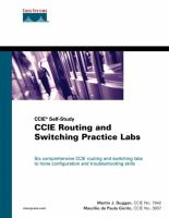Cover image for CCIE routing and switching practice labs
