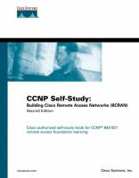 Cover image for Building Cisco remote access networks (BCRAN) : CCNP self-study