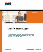 Cover image for Cisco security agent