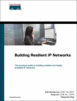 Cover image for Building resilient IP networks