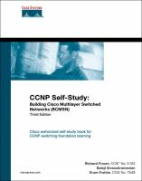 Cover image for CCNP self-study : building Cisco Multilayer Switched Networks (BCMSN)