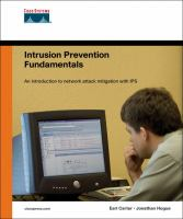 Cover image for Intrusion prevention fundamentals