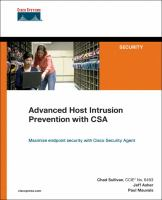 Cover image for Advanced host intrusion prevention with CSA