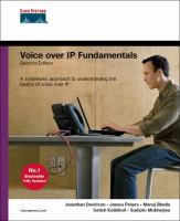 Cover image for Voice over IP fundamentals