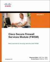 Cover image for Cisco secure firewall services module (FWSM)