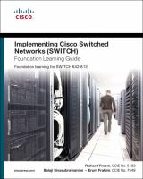 Cover image for Implementing Cisco IP switched networks (SWITCH) foundation learning guide