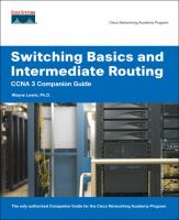 Cover image for Switching basics and intermediate routing : CCNA 3 companion guide