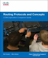Cover image for Routing protocols and concepts CCNA exploration companion guide