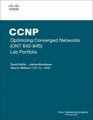Cover image for CCNP optimizing converged networks (ONT 642-845) lab portfolio