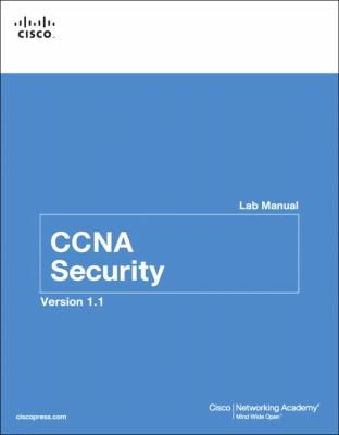 Cover image for CCNA security lab manual version 1.1