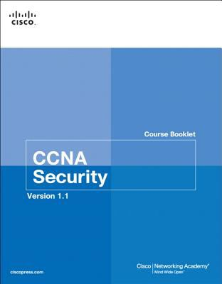 Cover image for CCNA security course booklet.
