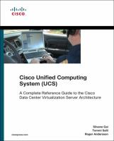 Cover image for Cisco unified computing system (UCS) : a complete reference guide to the data center virtualization server architecture