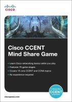 Cover image for Cisco CCENT mind share game
