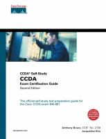 Cover image for CCDA self-study : CCDA exam certification guide