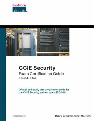Cover image for CCIE security exam certification guide