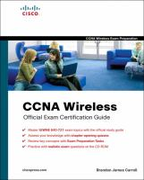 Cover image for CCNA wireless official exam certification guide