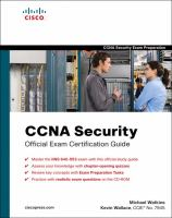 Cover image for CCNA security official exam certification guide