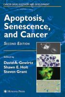 Cover image for Apoptosis, senescence and cancer