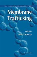 Cover image for Membrane trafficking