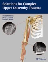 Cover image for Solutions for complex upper extremity trauma