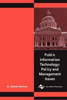 Cover image for Public information technology : policy and management issues