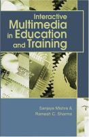 Cover image for Interactive multimedia in education and training