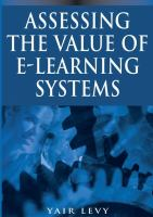 Cover image for Assessing the value of e-learning systems