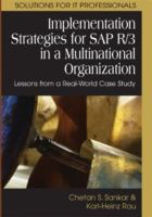 Cover image for Implementation strategies for SAP R/3 in a multinational organization : lessons from a real-world case study