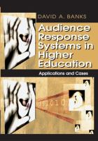 Cover image for Audience response systems in higher education : applications and cases