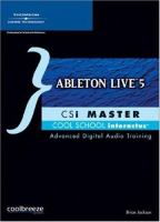Cover image for Ableton live 5 CSi master