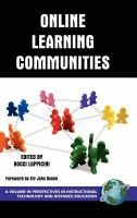 Cover image for Online learning communities