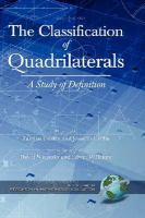 Cover image for The classification of quadrilaterals : a study in definition