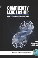 Cover image for Complexity leadership