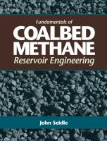 Cover image for Fundamentals of coalbed methane reservoir engineering