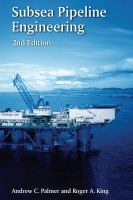 Cover image for Subsea pipeline engineering
