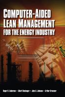 Cover image for Computer-aided lean management for the energy industry