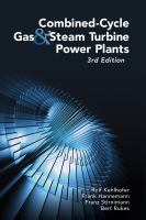 Cover image for Combined-cycle gas and steam turbine power plants /lcRolf Kehlhofer