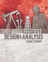 Cover image for Well test design and analysis