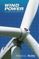 Cover image for Wind power : the industry grows up