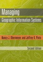 Cover image for Managing geographic information systems