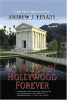 Cover image for A. Night in Hollywood forever