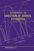 Cover image for Advances in direction-of-arrival estimation