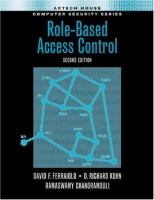 Cover image for Role-based access control