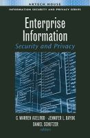 Cover image for Enterprise information security and privacy