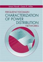 Cover image for Frequency-domain characterization of power distribution networks
